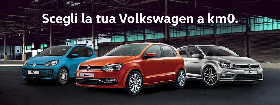 Scegli la tua Volkswagen km 0!