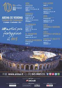 Volkswagen Group Italia è Automotive Partner del Festival del Centenario dell'Arena di Verona