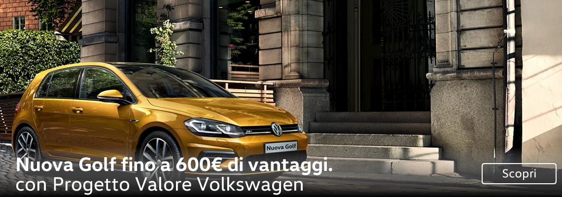 Solo ad ottobre Nuova Golf TDI tua con un vantaggio fino a 6000 €