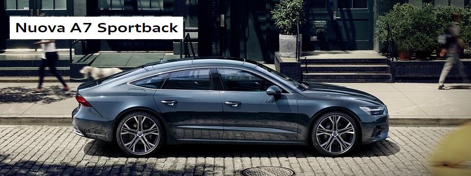 Progettata domani. Nuova Audi A7 Sportback.