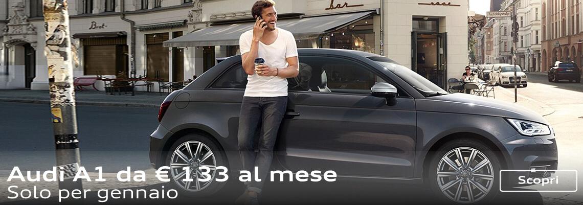 Audi A1 con extra vantaggio di 1.000 € e finanziamento a tasso Zero