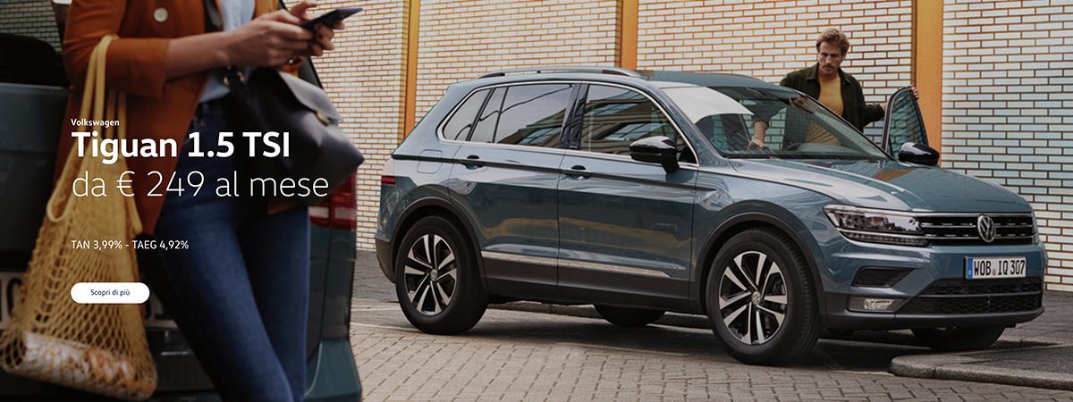 Mandolini Volkswagen - Tiguan - Promozioni gennaio