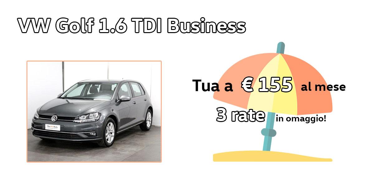 Golf 1.6 TDI 115 CV - Das WeltAuto
