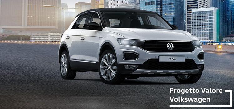 Volkswagen T-Roc! in offerta da € 189 al mese con progetto valore volkswagen.