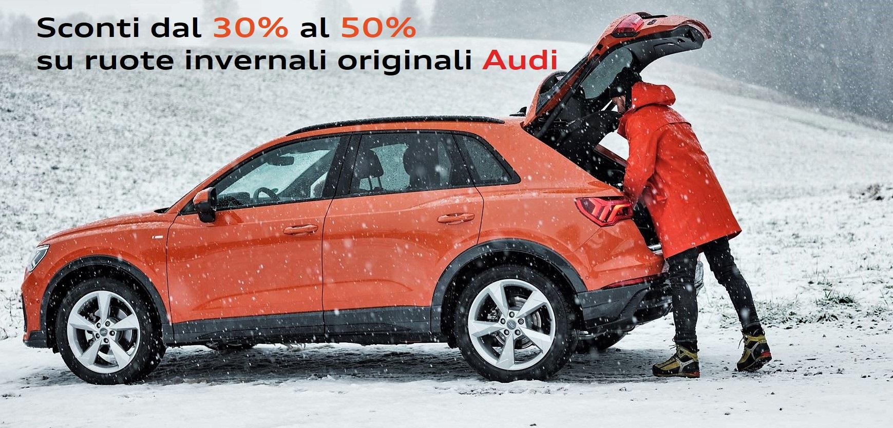 Offerta ruote invernali Audi