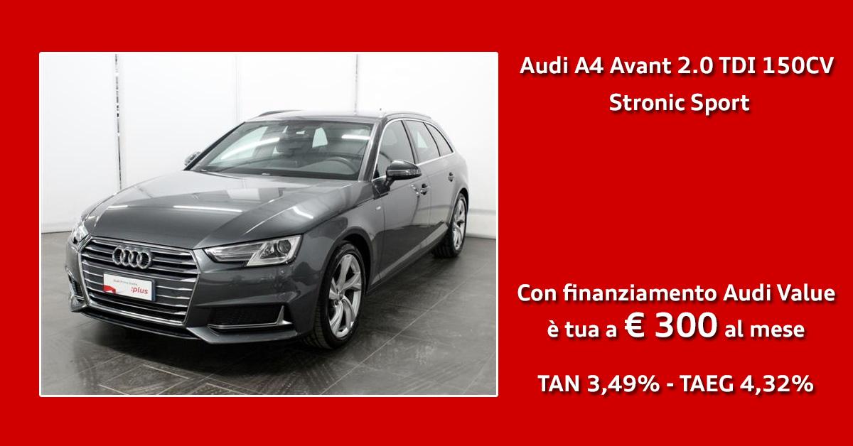 Audi A4 Avant 2.0 TDI 150CV Sport