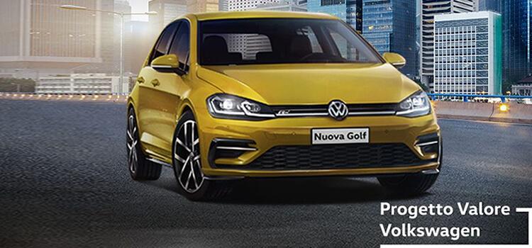 Volkswagen Golf! in offerta da € 189 al mese con progetto valore volkswagen.