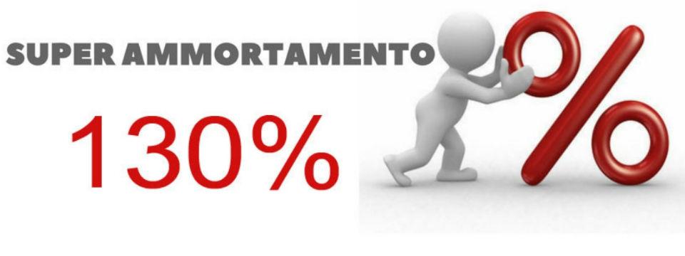 ULTIMI GIORNI PER IL SUPER AMMORTAMENTO 130%