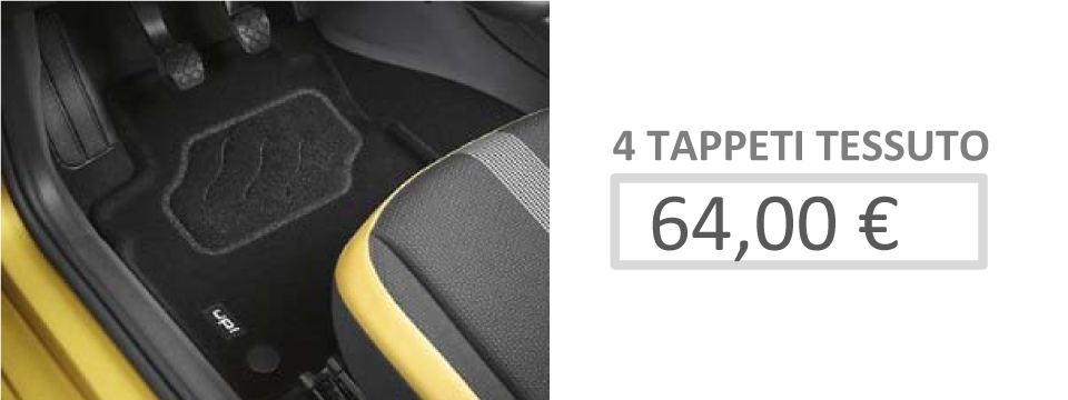 Offerta Tappeti Tessuto Up!