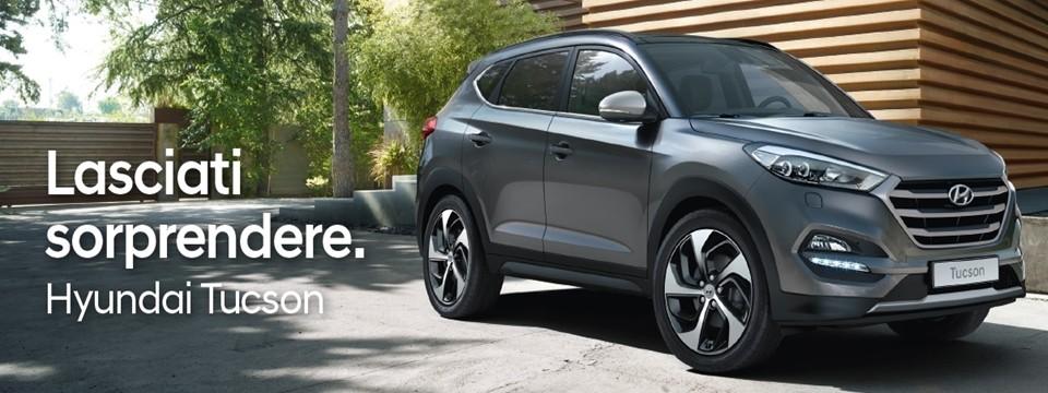 Lasciati sorprendere. Hyundai Tucson