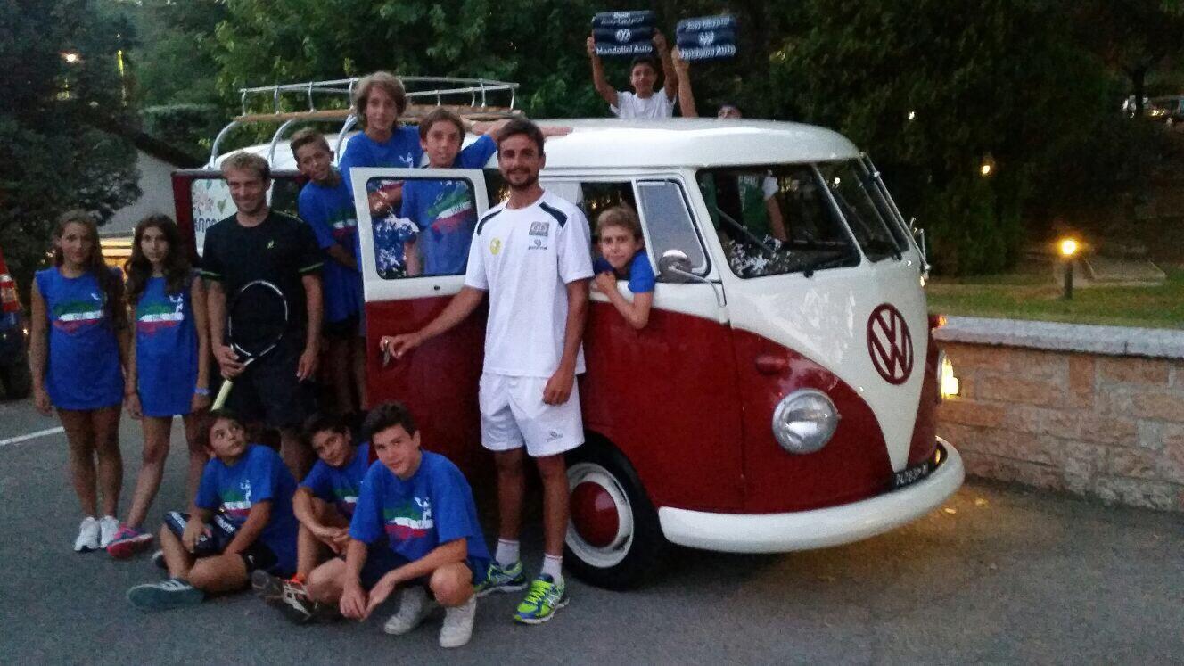 Luglio \ Agosto 2015 – Open di tennis di Manerba \3° Trofeo Mandolini Auto VW