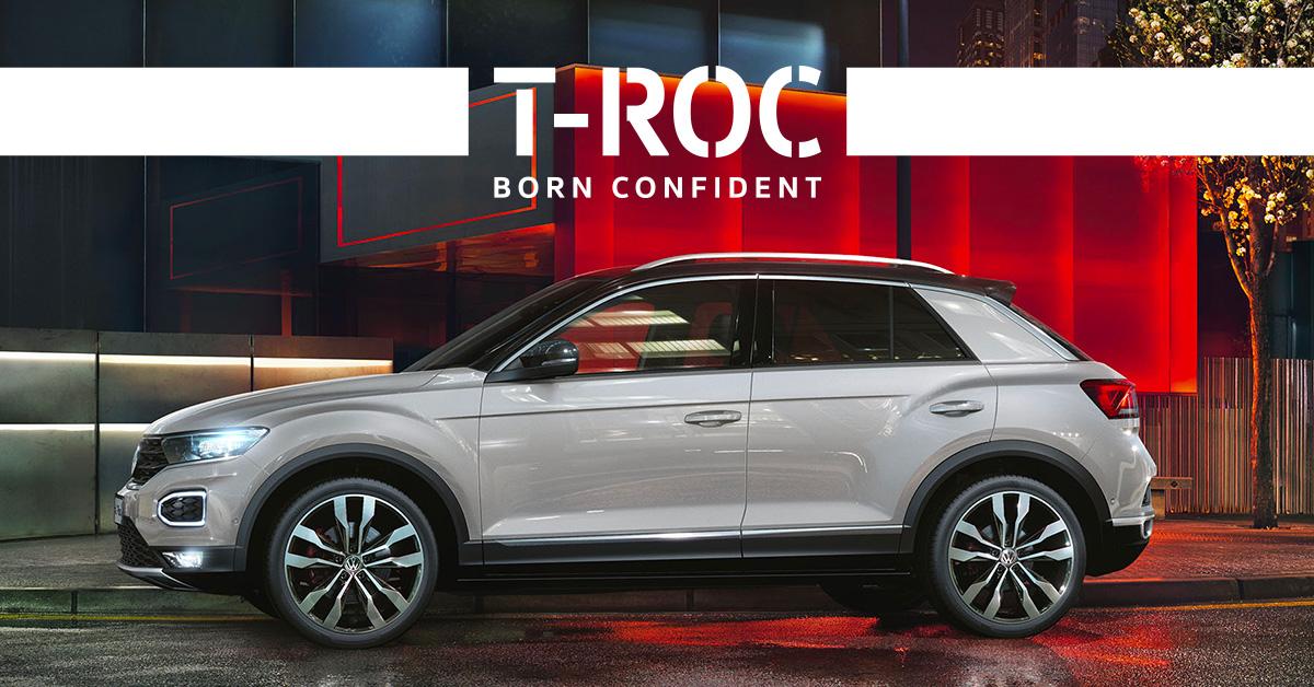 Volkswagen T-Roc!