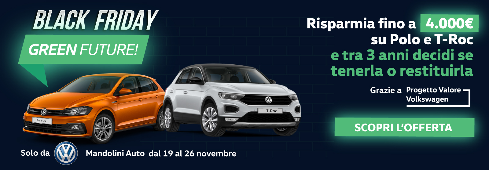 BLACK FRIDAY MANDOLINI AUTO
