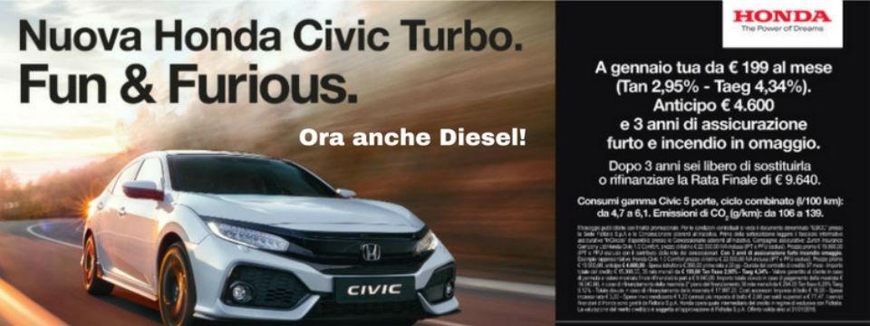 Scopri la nuova Honda Civic!