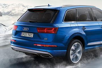 Audi Q7 con finanziamento a tasso 0 ed extra vantaggio fino a € 3.000
