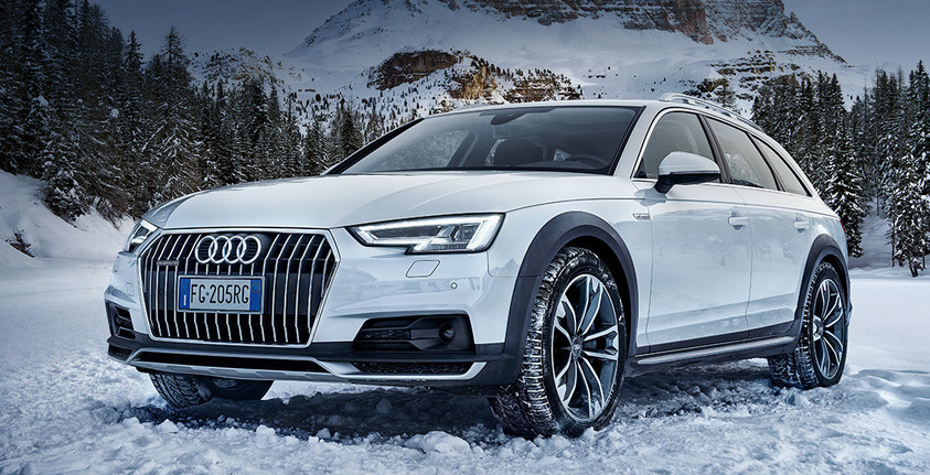 Audi A4 allroad quattro. Future happens. Be ready.
