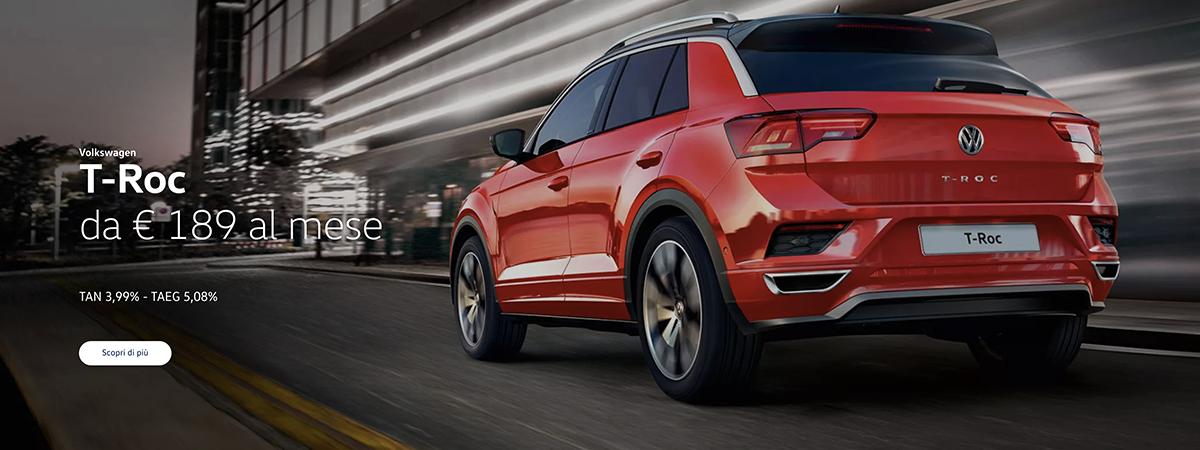 Mandolini Volkswagen - T-roc - Promozioni gennaio