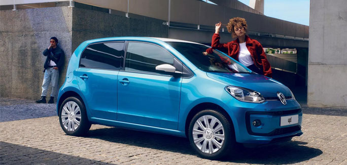 Nuova Volkswagen up! a €99 al mese