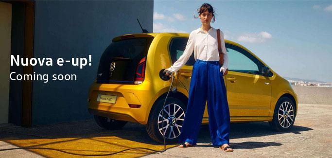 Nuova Volkswagen e-up! da €15.300