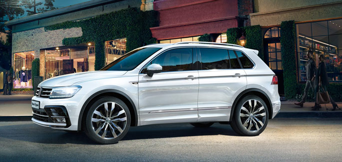 Volkswagen Tiguan Business da €371 al mese