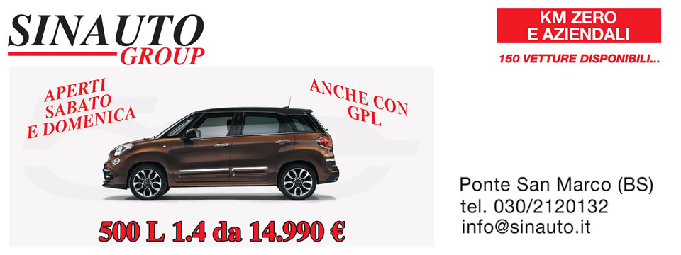 Scopri Fiat 500L ANCHE A GPL