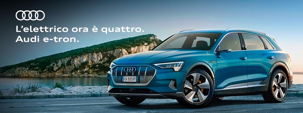 E-tron, l'elettrico ora è Audi