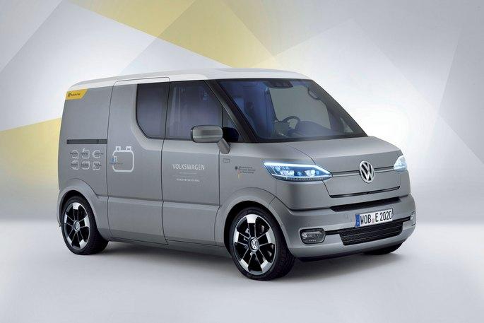 Volkswagen eT!, la visione futura del furgone