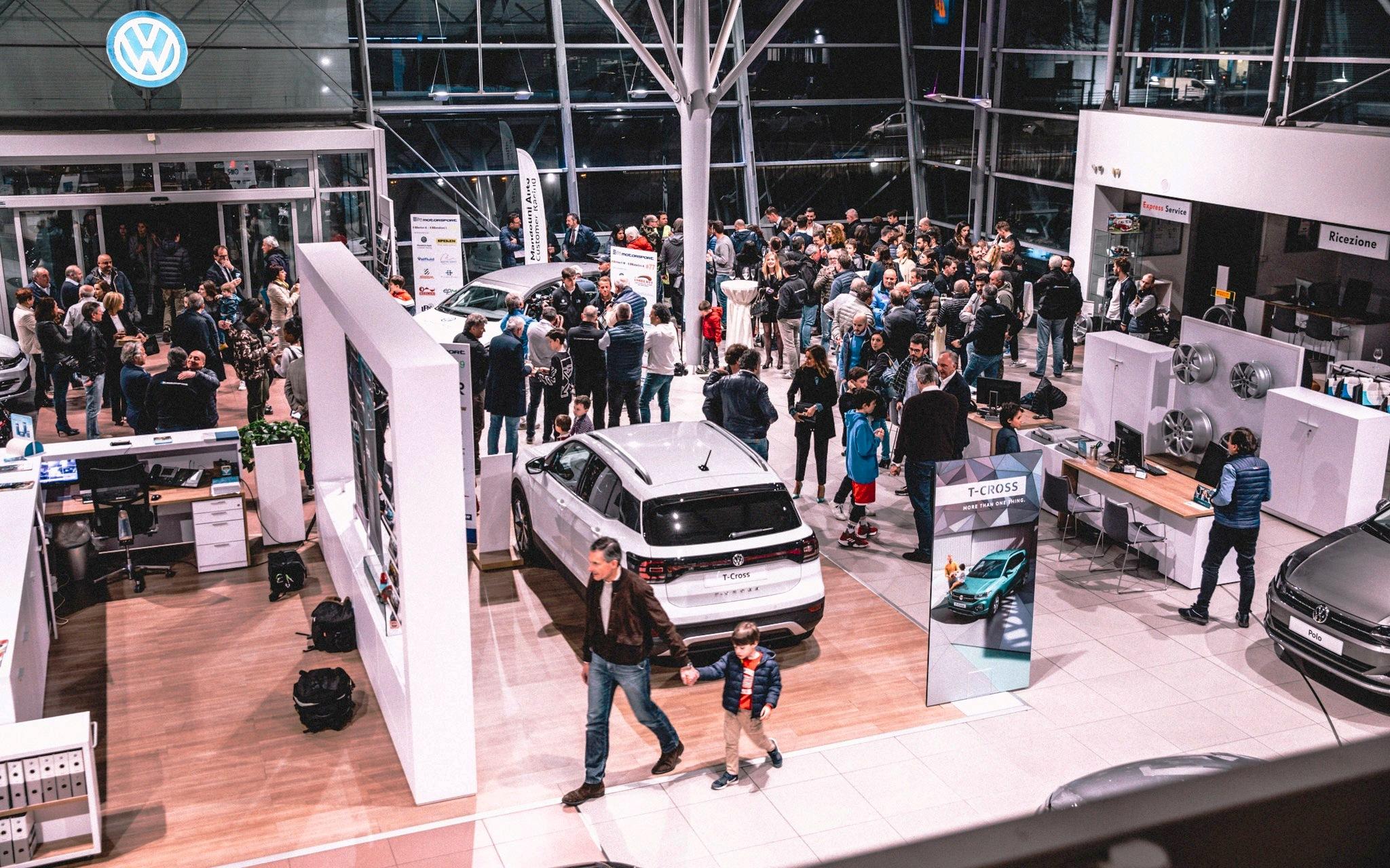 28 marzo 2019 – Con la preview della nuova VW T-Cross ...anche una bella news per gli appassionati di motori bresciani!