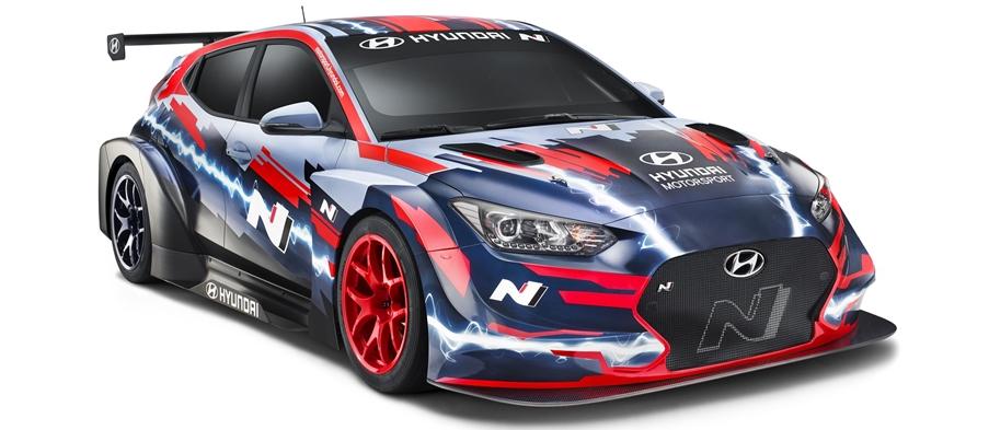 Hyundai Motorsport svela la Veloster N ETCR
