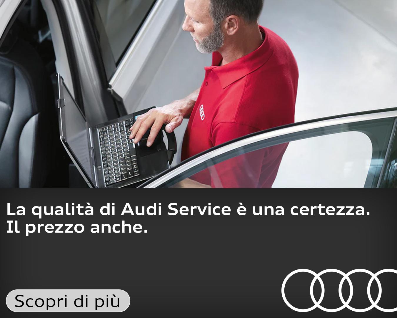 Audi Service, qualità e trasparenza.