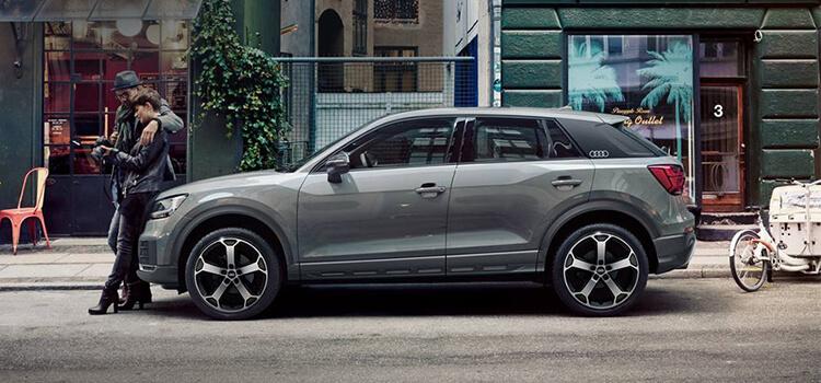 Audi Q2 con rata Zero TAN e TAEG 0%.