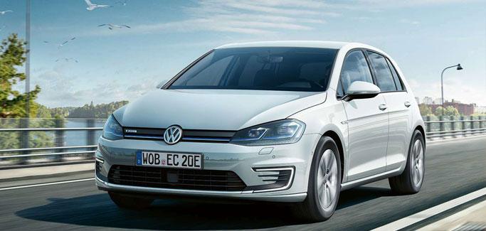 Volkswagen e-Golf da €22.900