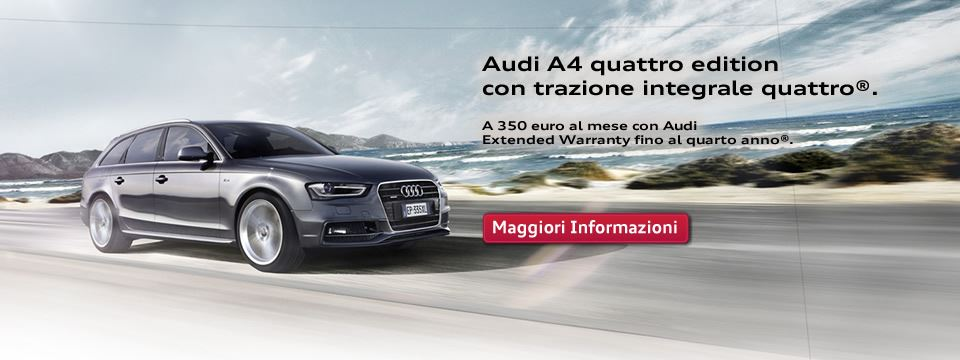 Audi A4 Quattro Edition