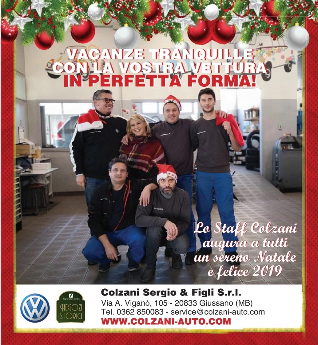 Buon Natale 105.News Colzani Sergio Figli S R L Monza Brianza