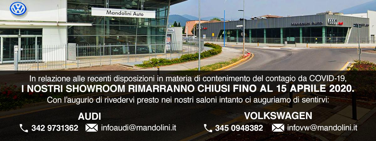 Mandolini Auto - Chiusura fino al 15 aprile