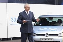 La Volkswagen festeggia la Golf numero 30.000.000