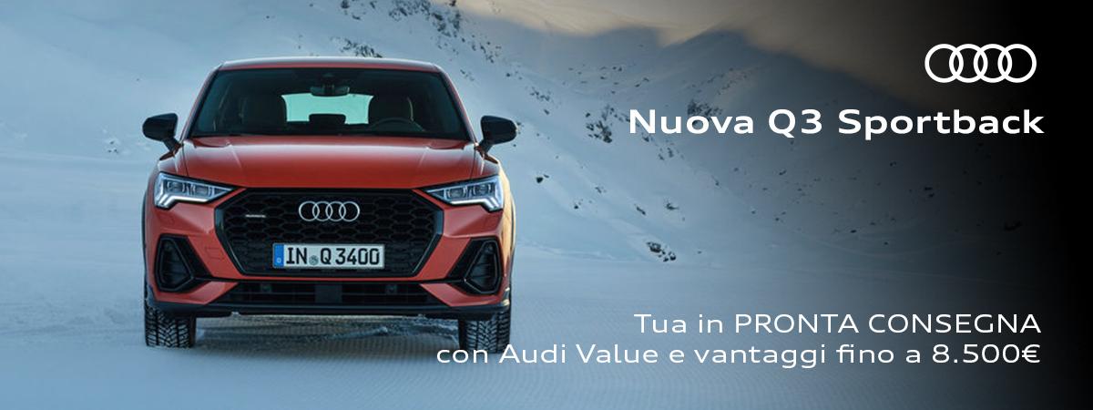 Mandolini Audi - Nuova Q3 Sportback