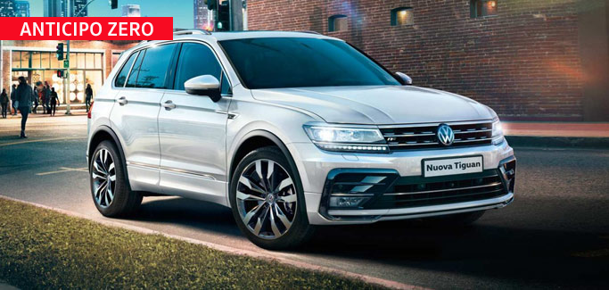 Volkswagen Tiguan 1.6 TDI Business da €335 al mese