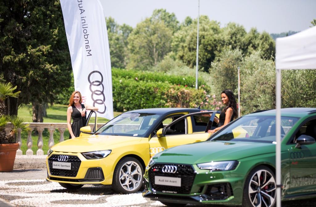 """Maggio\Giugno 2019 - Mandolini Auto Audi partner degli eventi """"cool"""" dell'inizio estate al Timing ed al Garda Golf"""