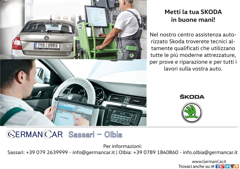 SKODA Tagliandi - Service Partner Ufficiale - per Sassari e Olbia in Sardegna