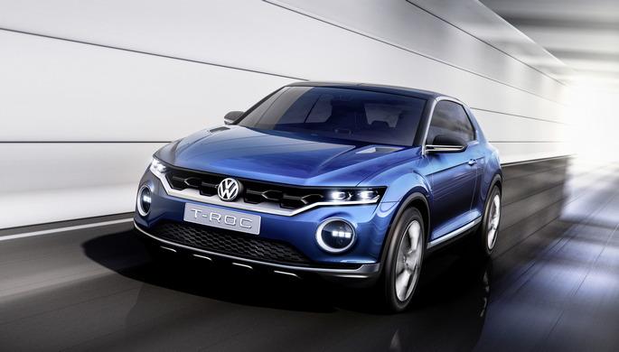 Salone di Ginevra 2014: anteprima mondiale della concept car T-ROC