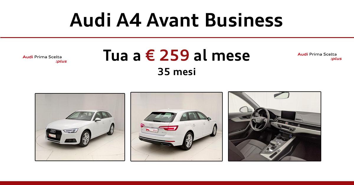 Audi A4 Avant Business 35 TDI