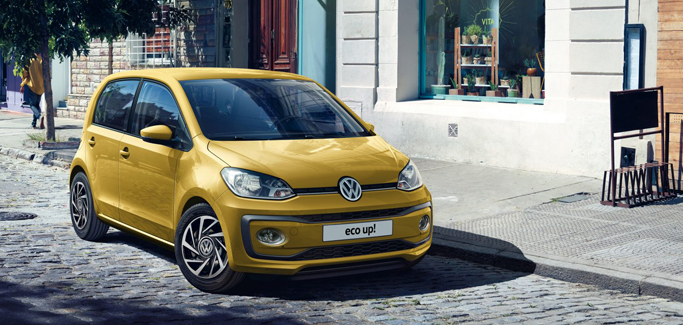 Volkswagen eco up! take up! 1.0 metano 68CV tua da €199 al mese